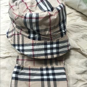 Authentic Burberry Rain hat